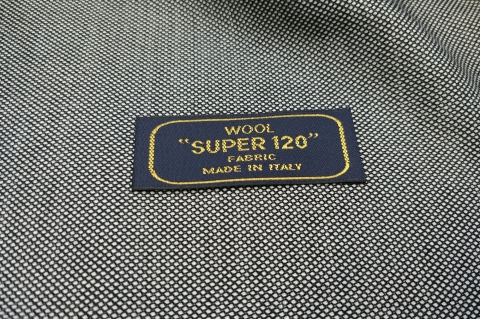 Super 120 szürke millpoint 100% gyapjú