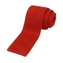 Kötött nyakkendő piros
