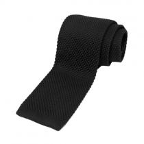Kötött nyakkendő fekete
